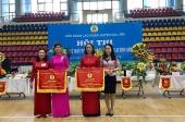 Hội thi cắm tỉa hoa nghệ thuật trong CNVCLĐ huyện Gia Lâm