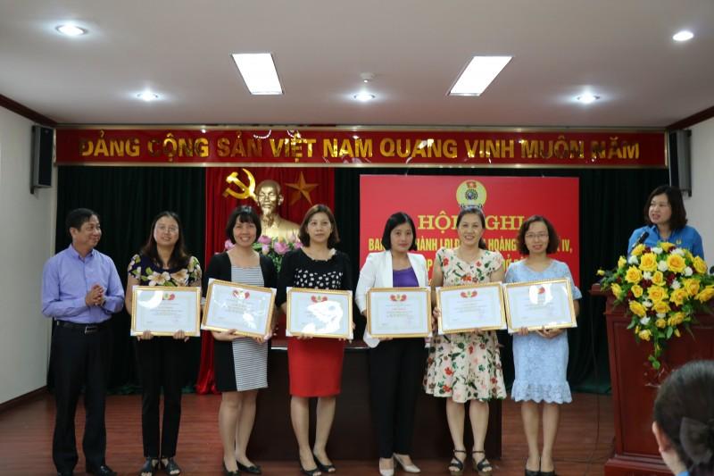 LĐLĐ quận Hoàng Mai: Tổ chức Hội nghị lần thứ năm Ban chấp hành khóa IV