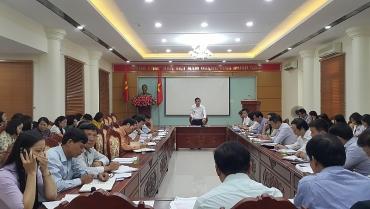 Triển khai nhiệm vụ trọng tâm công tác chính sách, pháp luật quý IV/2018