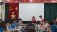 Bốc thăm dự thi thực hành Hội thi Thợ giỏi Thành phố Hà Nội năm 2019