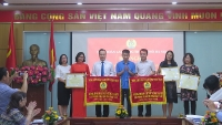 2 đơn vị nhận Cờ thi đua xuất sắc của Tổng Liên đoàn Lao động Việt Nam