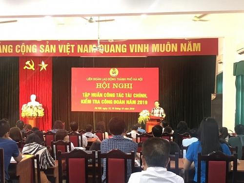 tap huan cong tac tai chinh va cong tac kiem tra cho can bo cong doan