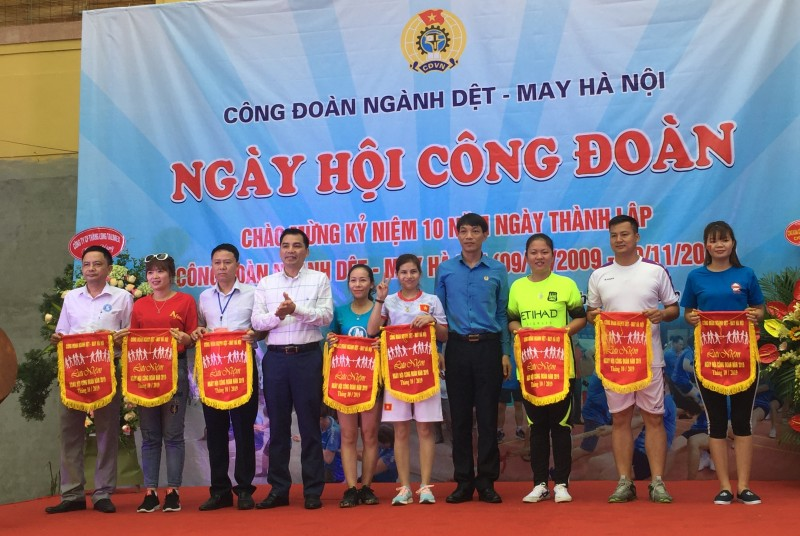 Sôi nổi Ngày hội Công đoàn ngành Dệt- May Hà Nội năm 2019