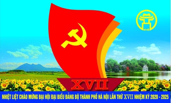 Hướng dẫn thông tin, tuyên truyền Đại hội Đảng bộ Thành phố lần thứ XVII