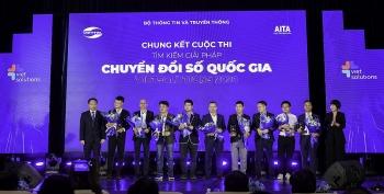 Viet Solutions 2020 vinh danh 3 sản phẩm công nghệ chuyển đổi số quốc gia