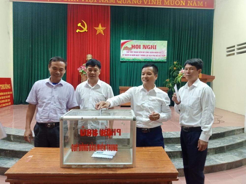 Vận động đoàn viên, công nhân viên chức lao động Thủ đô ủng hộ đồng bào miền Trung