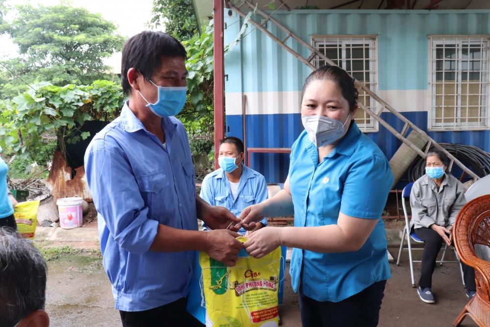 Trên 67 tỷ đồng chăm lo đoàn viên, người lao động và hỗ trợ công tác phòng, chống dịch bệnh