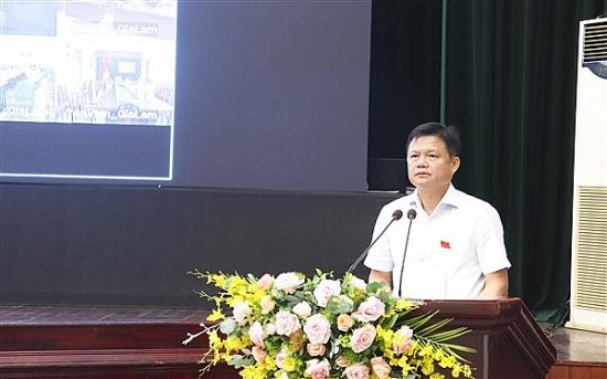 Đại biểu Hội đồng nhân dân thành phố Hà Nội tiếp xúc cử tri huyện Gia Lâm