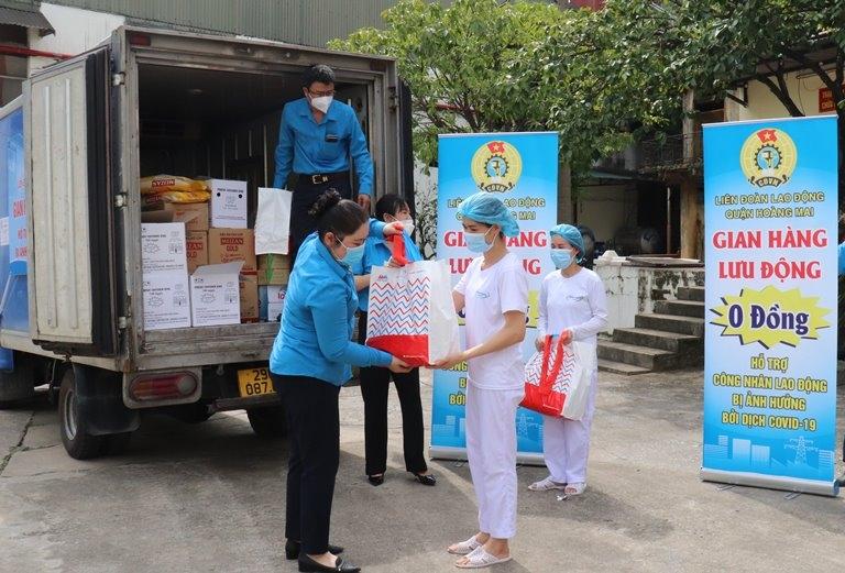 Trên 130.700 đoàn viên, người lao động được Công đoàn Thủ đô chăm lo, hỗ trợ