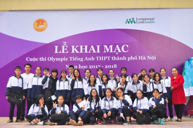 Hơn 2.300 thí sinh tham dự Cuộc thi Olympic tiếng Anh THPT thành phố Hà Nội