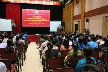 Hướng dẫn thu kinh phí công đoàn khu vực sản xuất kinh doanh qua tài khoản của Tổng LĐLĐ Việt Nam