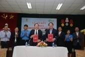 Công đoàn Dệt May Việt Nam ký biên bản hợp tác cùng BV Hữu nghị Việt Đức