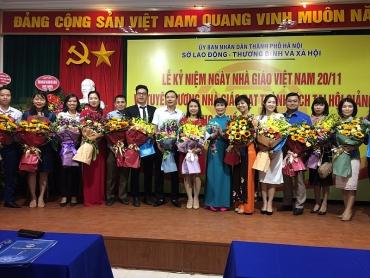 Sở Lao động - Thương binh và Xã hội kỷ niệm Ngày Nhà giáo Việt Nam