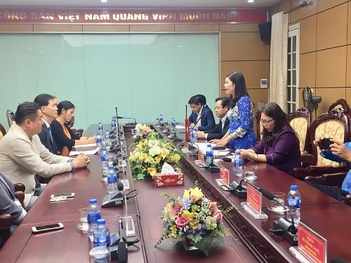 Đoàn  đại biểu LHCĐ Thành phố SEOUL (Hàn Quốc) thăm và làm việc với LĐLĐ Thành phố
