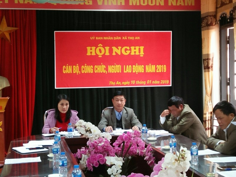 Hoàn thành tổ chức Hội nghị cán bộ công chức, viên chức