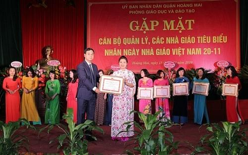 Quận Hoàng Mai chuyển biến rõ nét về chất lượng giáo dục đào tạo