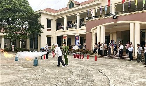 Huyện Gia Lâm tăng cường công tác phòng cháy chữa cháy và cứu nạn cứu hộ