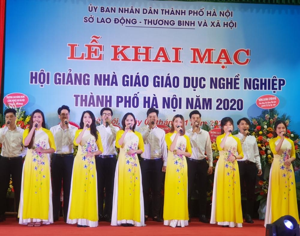Khai mạc Hội giảng Nhà giáo giáo dục nghề nghiệp thành phố Hà Nội năm 2020