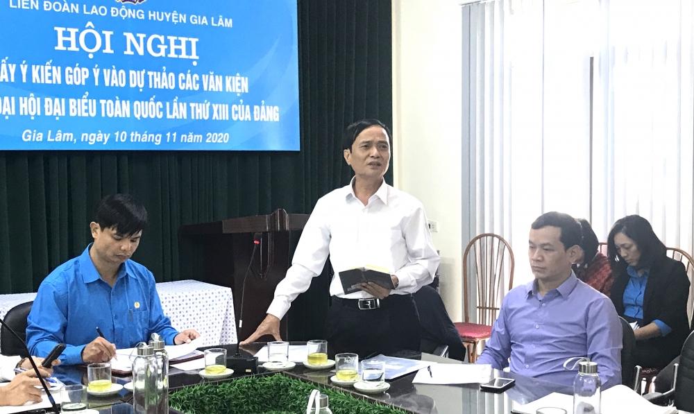 Nhiều ý kiến đóng góp cho dự thảo các văn kiện Đại hội lần thứ XIII của Đảng