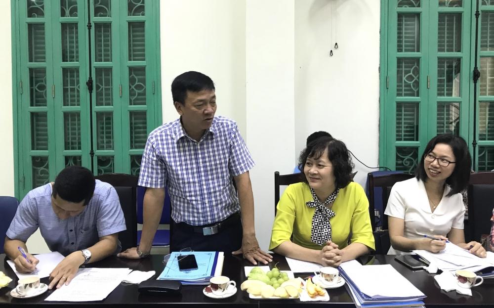 Khảo sát hoạt động Công đoàn Cụm thi đua số 1 Liên đoàn Lao động Thành phố