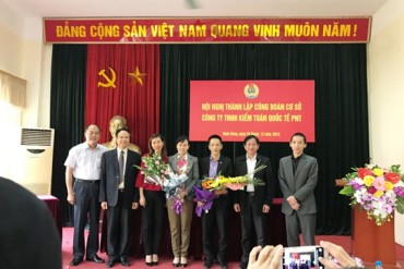 LĐLĐ quận Hoàng Mai thành lập CĐCS theo phương thức mới