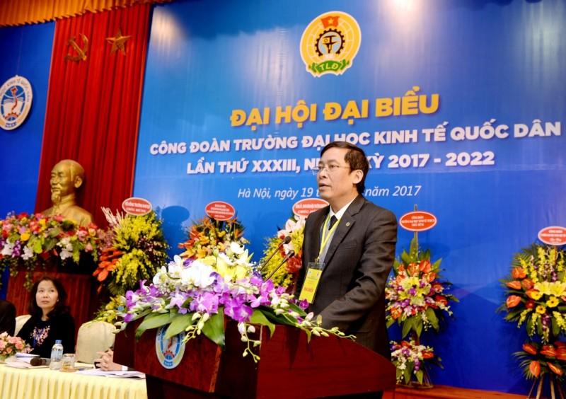 15 đồng chí được bầu vào BCH Công đoàn Trường Đại học Kinh tế Quốc khóa XXXIII, nhiệm kỳ 2017 – 2022