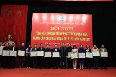 Hoàn thành xuất sắc nhiệm vụ phát triển đoàn viên, thành lập CĐCS