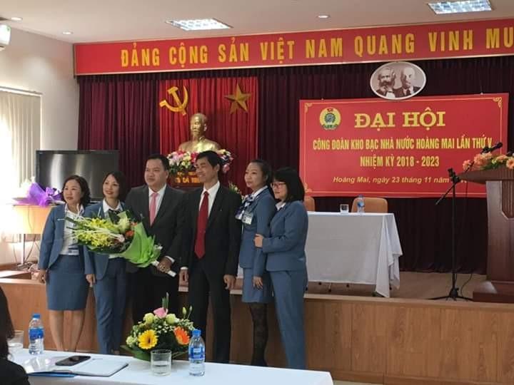 Đại hội Công đoàn Kho bạc Nhà nước quận Hoàng Mai