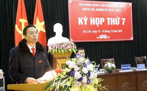 Kỳ họp thứ 7 - HĐND huyện Gia Lâm khóa XIX