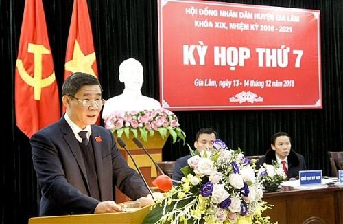HĐND huyện Gia Lâm: Phát huy tốt vai trò giám sát