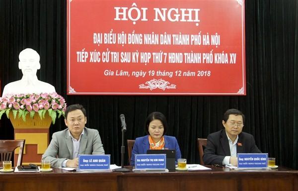 HĐND huyện Gia Lâm: 52 buổi tiếp công dân năm 2018
