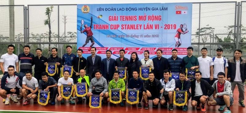 Sôi nổi giải Tennis mở rộng tranh Cúp Stanley lần thứ VI năm 2019