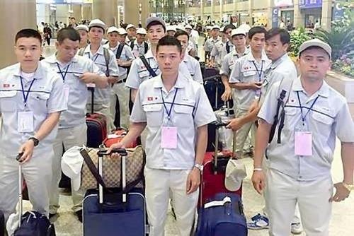 xuat khau lao dong da vuot chi tieu nam 2019