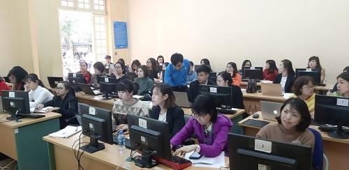 Tập huấn sử dụng phần mềm quản lý đoàn viên cho cán bộ công đoàn