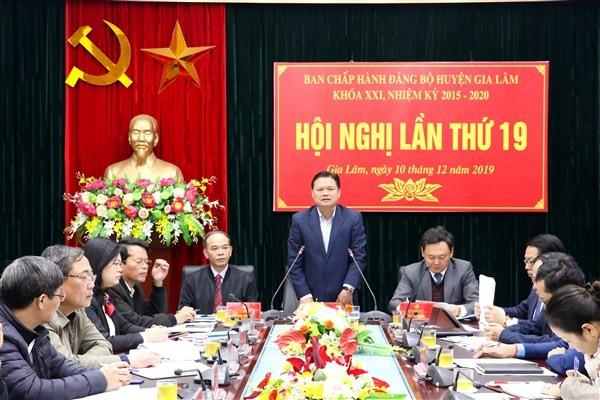 Năm 2019, kinh tế huyện Gia Lâm ổn định và phát triển