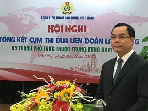 tap trung moi nguon luc cham lo tet cho doan vien nguoi lao dong