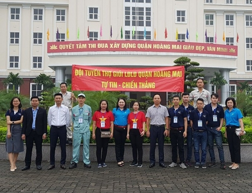 LĐLĐ quận Hoàng Mai: Phát động 2 đợt thi đua năm 2020