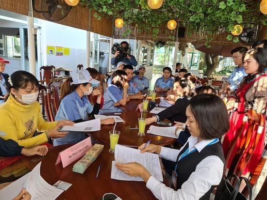 Hơn 1 tỷ đồng cho đoàn viên công đoàn, công nhân huyện Gia Lâm vay vốn