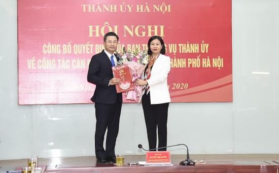 Đồng chí Nguyễn Phi Thường giữ chức Bí thư Đảng đoàn Liên đoàn Lao động thành phố Hà Nội