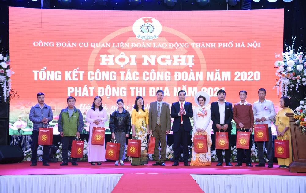 Tổng kết hoạt động Công đoàn Cơ quan Liên đoàn Lao động Thành phố năm 2020