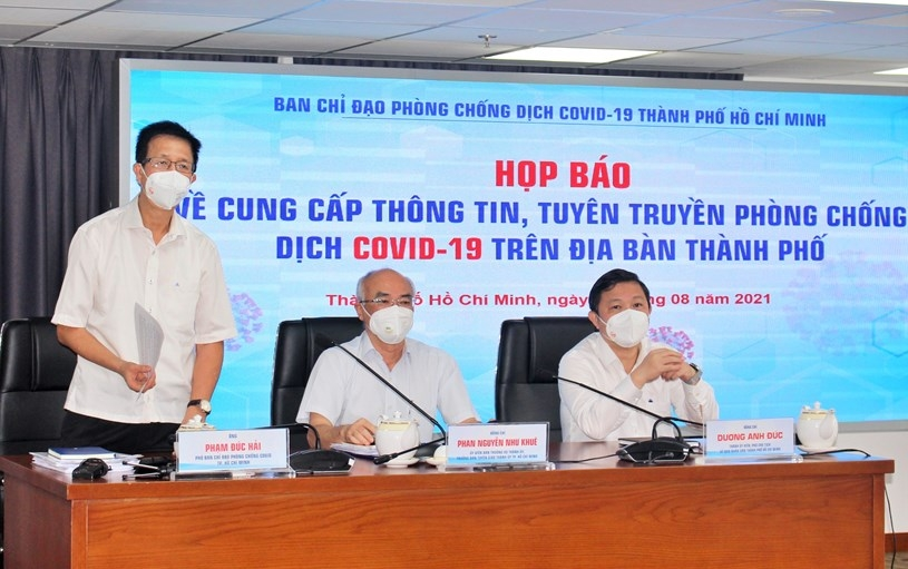 """Thành phố Hồ Chí Minh: Không """"lockdown"""" nhưng sẽ có biện pháp nâng cao hơn trong chống dịch"""