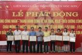 LĐLĐ huyện Sóc Sơn: Nâng cao phúc lợi cho đoàn viên công đoàn