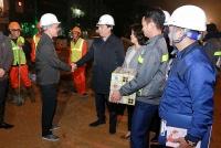 Thăm, động viên cán bộ, công nhân ở các dự án giảm ùn tắc giao thông trên địa bàn TP Hà Nội