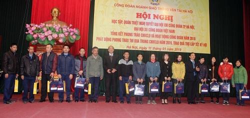 cong doan nganh gtvt ha noi diem sang ve cham lo doi song cho nguoi lao dong