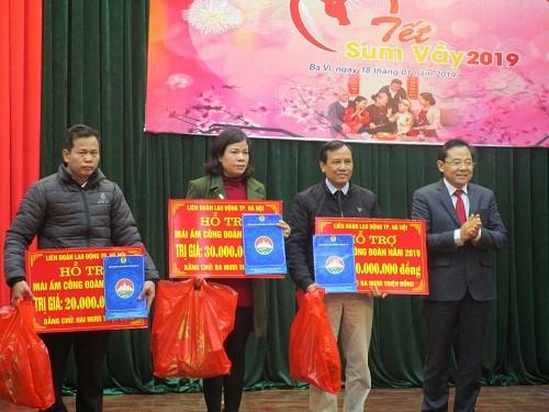 Liên đoàn Lao động huyện Ba Vì: Chú trọng hướng về người lao động