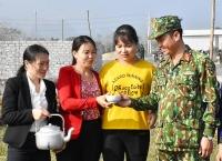 Đồng lòng xây dựng tường rào bảo vệ sân bay Miếu Môn