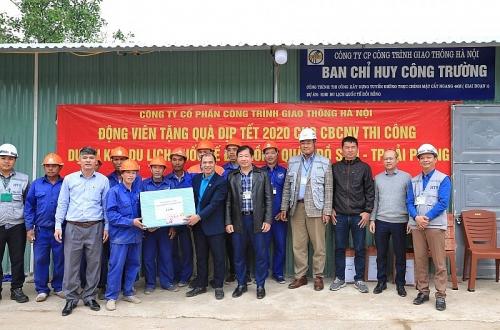 Động viên công nhân lao động dự án Khu du lịch quốc tế Đồi Rồng