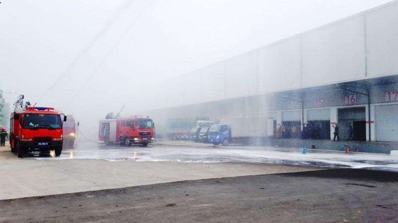 Công an thị xã Sơn Tây tổ chức diễn tập chữa cháy và cứu nạn, cứu hộ