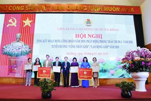 LĐLĐ quận Hà Đông: Kết quả nổi bật trên các mặt hoạt động
