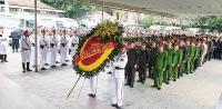 Tiễn đưa 3 liệt sỹ hy sinh tại Đồng Tâm